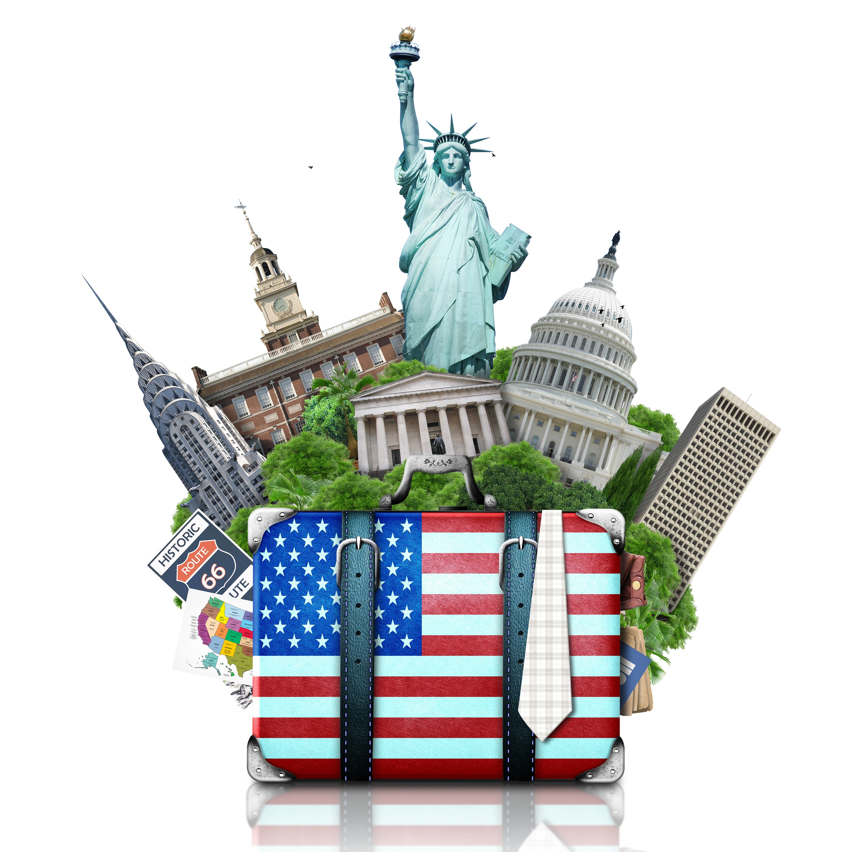 bigstock-USA-landmarks-USA-62927575